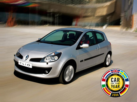 Renault Clio III : « Car of the Year 2006 »