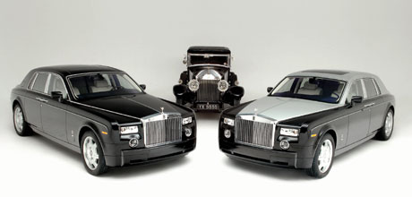 Rolls Royce Phantom 80th Anniversary Edition.
