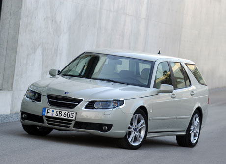 Saab 9-5 Aero BioPower concept (Los Angeles 2006).