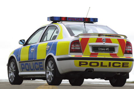 Skoda Octavia RS 2002 Police (Great Britain).