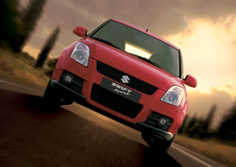 2007 Suzuki Swift Sport.
