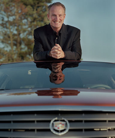 Jim TAYLOR, General Manager Cadillac.