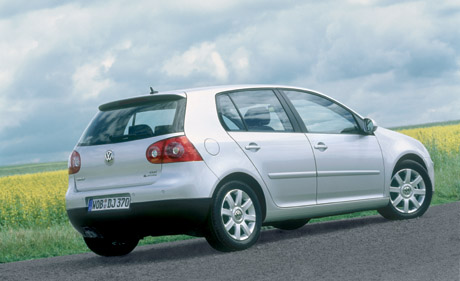 Volkswagen Golf TDI 4MOTION 2005. The second generation of this four-wheel
