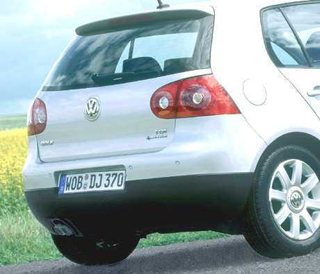 Volkswagen Golf TDI 4MOTION 2005. The heart of the 4MOTION drive train is an