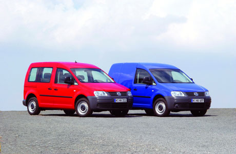 2007 Volkswagen Caddy.