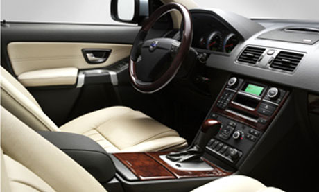 De volvo xc90 executive automanie for Interieur xc90