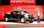 Dodge Rampage Concept Vehicle, un pick-up à la taille de son pays d'origine.