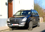 "Essai: SsangYong Rexton RX 270 s Xdi Tiptronic ""Expression""."
