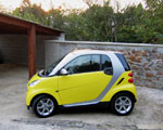 Essai : Smart Fortwo Coupé Pulse Turbo 2008.
