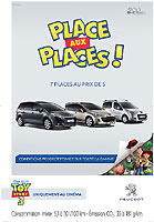 PEUGEOT S'ASSOCIE A TOY STORY 3