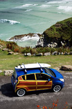 Chevrolet Spark Woody Wagon : Héritage des Surfing USA