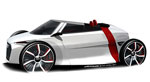 Audi Urban Concept : Egalement en version spyder