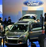 Lors du salon de l'automobile de Los Angeles, Ford a dévoilé le nouvel SUV/VUS Escape
