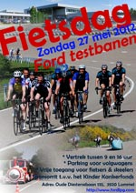 Dimanche 27 mai : Ford Lommel Proving Ground fietsdag 2012