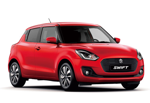 Suzuki Swift 2017 au Salon International de l'Automobile de Genève 2017