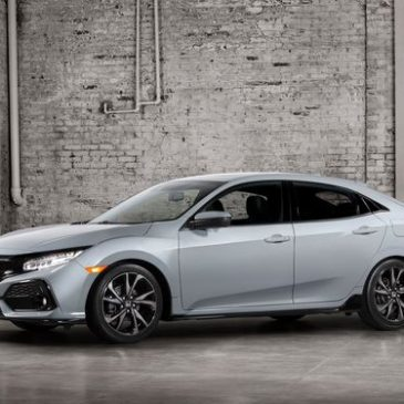 La Honda Civic Hatchback 2017 au Mondial de l'Automobile 2016