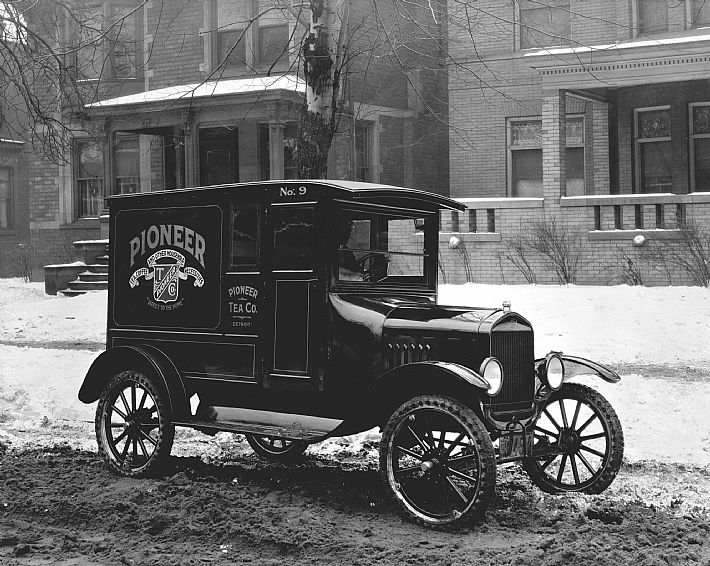 Ford TT - Panel Delivery Truck - 1920