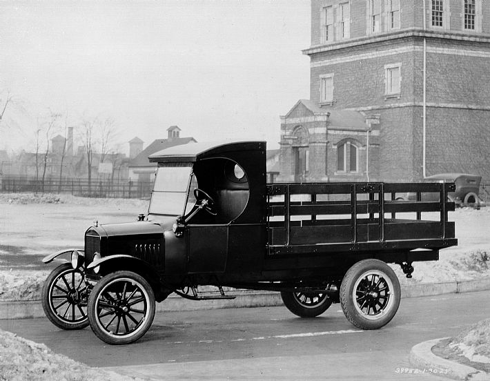 Ford TT - Stake Bed Truck - 1924