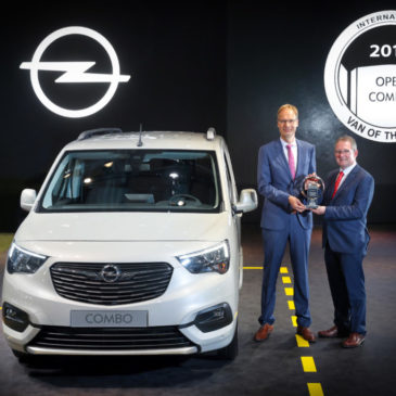 International Van of the Year 2019 : and the winner is : Opel Combo