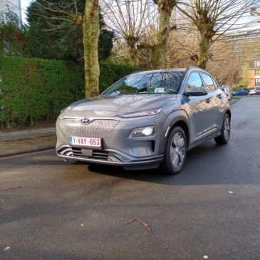 L'Hyundai KONA Electric : si commode…