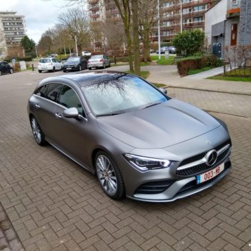 La Mercedes CLA Shooting Brake : une belle plastique